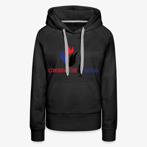 Conservative Nation Double Eagle Collaboration - Women's Premium Hoodie