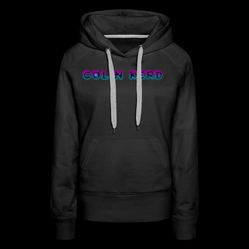 Colin Kerd (UPDATED) - Women's Premium Hoodie