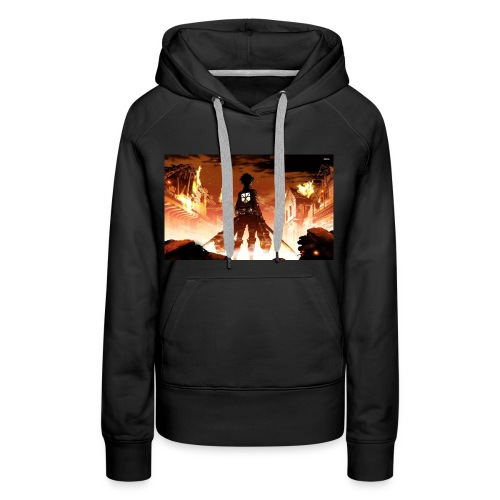 Attack of the titan - Women's Premium Hoodie