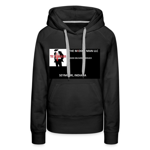 The Middle Man FDS Logo - Women's Premium Hoodie