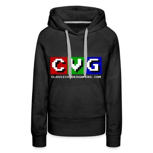 CVG Logo - Women's Premium Hoodie