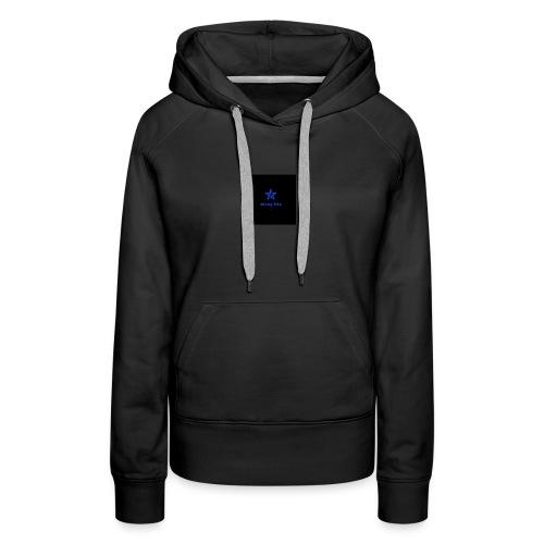dtray fits logo design - Women's Premium Hoodie