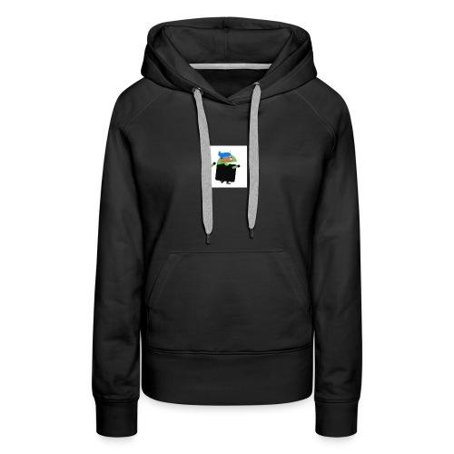 android man yo - Women's Premium Hoodie