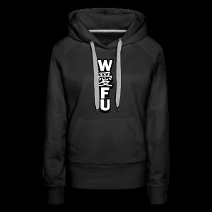 waifu_vertical - Women's Premium Hoodie