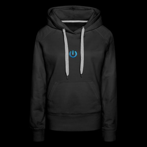 GAMingWITHty/ Never Turning Off - Women's Premium Hoodie