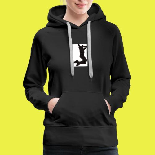 Rise up to the top Logo - Women's Premium Hoodie