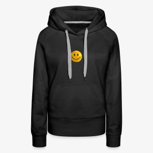 Smile Pin - Women's Premium Hoodie