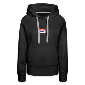 Hello! My name is Artsy. Collection - Women's Premium Hoodie
