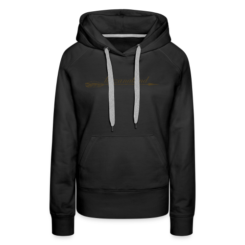 tarzanaland logo custom brown design - Women's Premium Hoodie