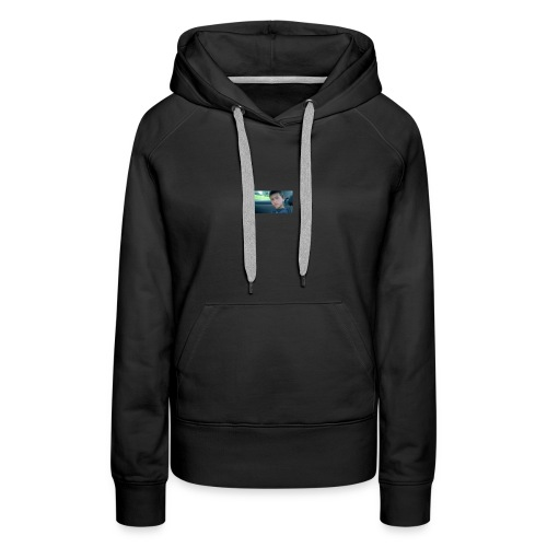 The Neiman Channel Game Show Alan's Face - Women's Premium Hoodie
