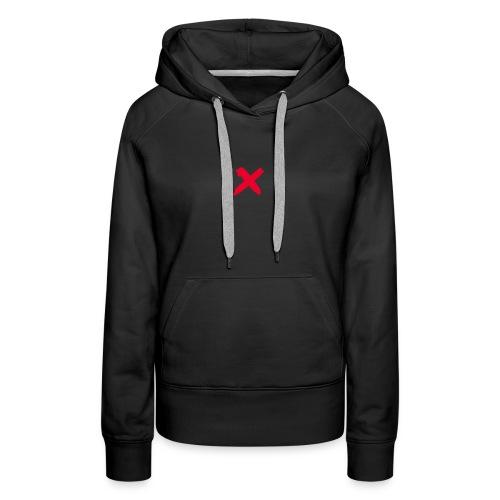 X marks the spot - Women's Premium Hoodie