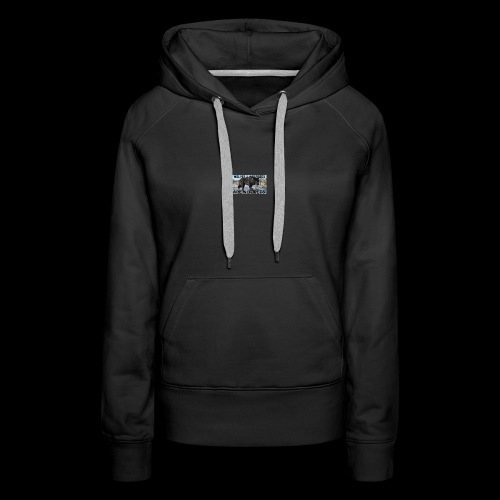 wolves and wolfdogs are not pets - Women's Premium Hoodie