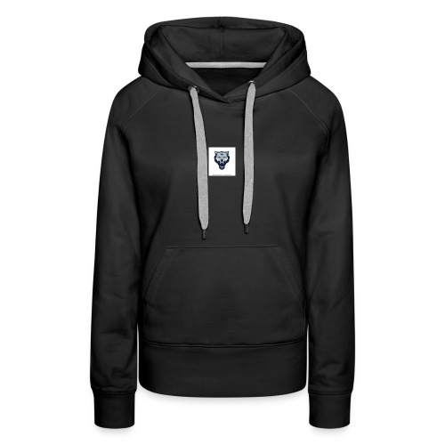 wolf vector logoicon illustration mascot 260nw 100 - Women's Premium Hoodie