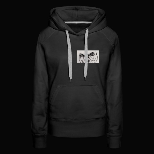 EYE SEEN PAIN - Women's Premium Hoodie