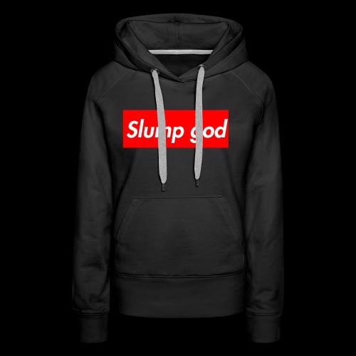 supreme god - Women's Premium Hoodie