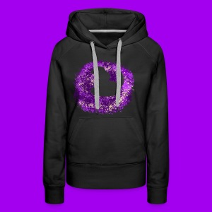 Purple Snake - Women's Premium Hoodie