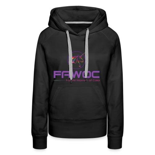 FAWOC Full logo - Women's Premium Hoodie