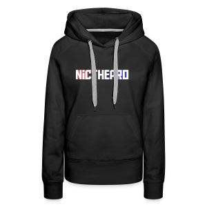 Nicthepro Logo - Women's Premium Hoodie