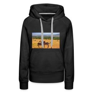 Kenya zebras - Women's Premium Hoodie