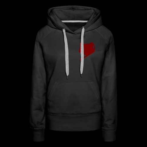 FoxTailArmy Red Logo Woman's Hoodies - Women's Premium Hoodie