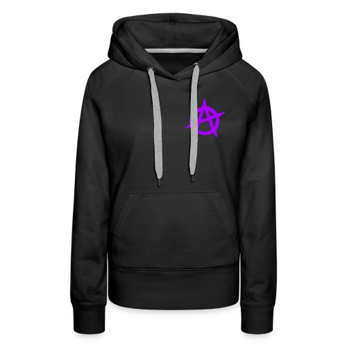 ANVRCHY purple - Women's Premium Hoodie