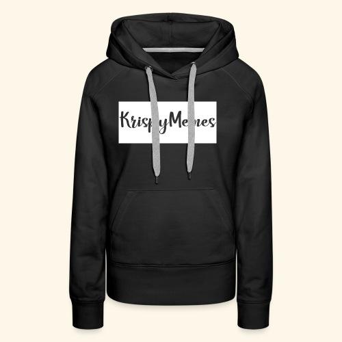 KrispyMemes Text 2 - Women's Premium Hoodie
