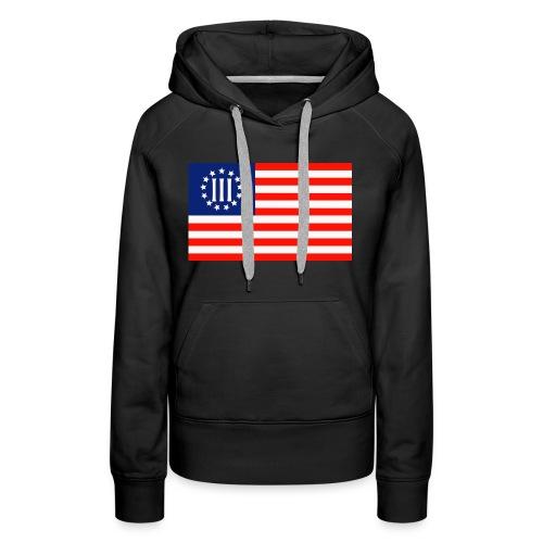 3 Percenters Flag - Women's Premium Hoodie
