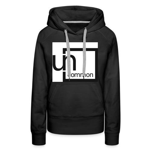 Uncommon logo BW - Women's Premium Hoodie
