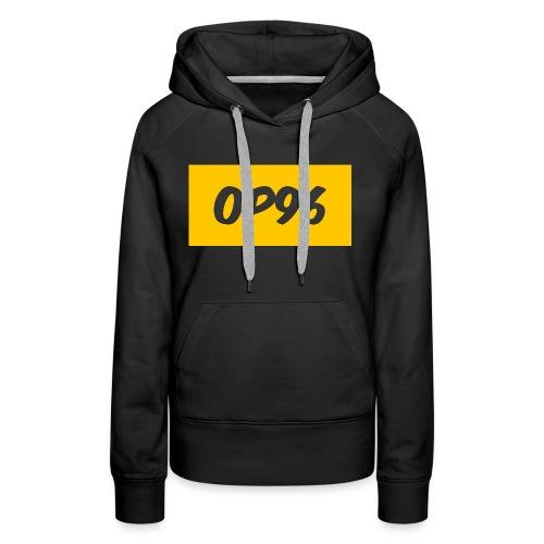 OP96FirstLogo - Women's Premium Hoodie