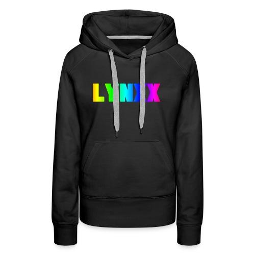 Rainbow Letters (LYNXX) - Women's Premium Hoodie