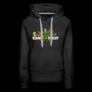 Game Knight Geek Bar Logo - Women's Premium Hoodie