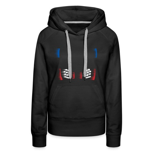 NMD OG abstract - Women's Premium Hoodie