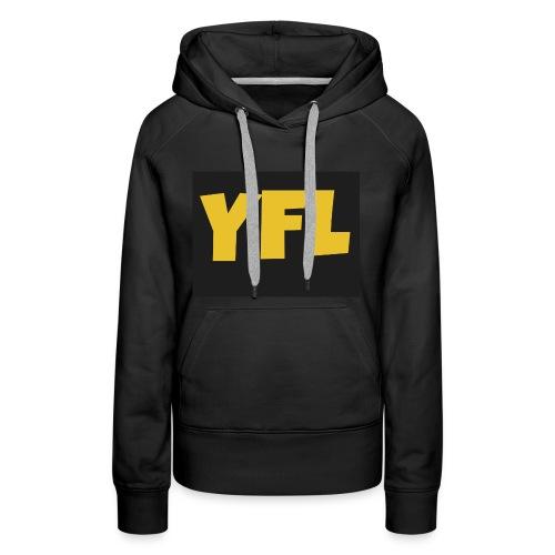 YoungForLife cloths - Women's Premium Hoodie