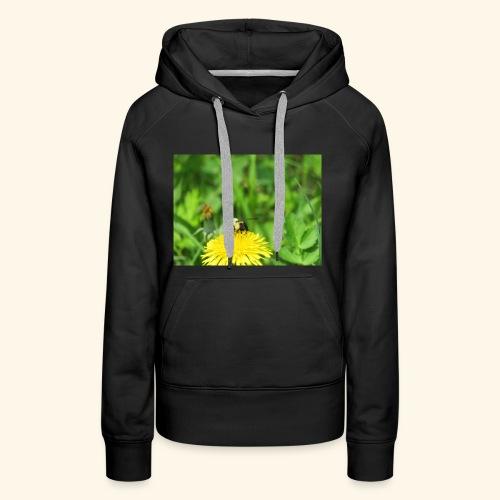 Dandelion Bee - Women's Premium Hoodie