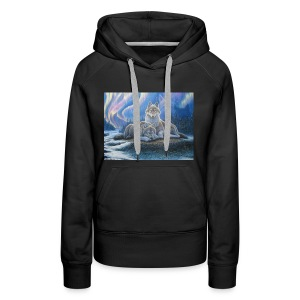 WOLVES OF THE NORTHERN LIGHTS - Women's Premium Hoodie