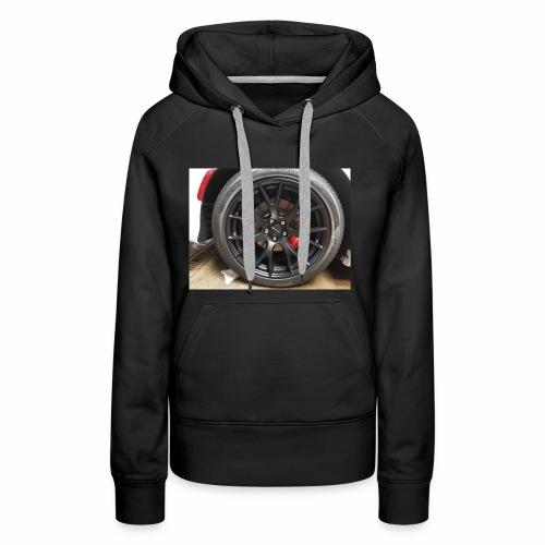 I have the wheel show me the way - Women's Premium Hoodie