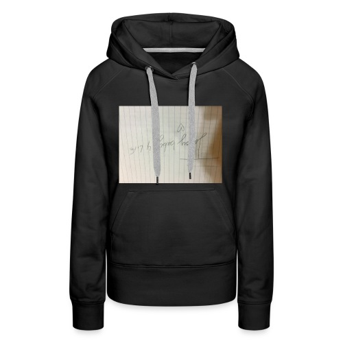 This is important for my fans in musically - Women's Premium Hoodie