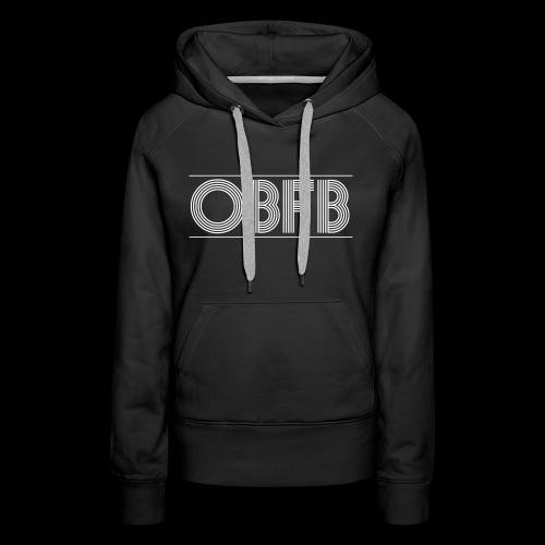 OBFB Bold 'n' Black - Women's Premium Hoodie