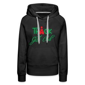 Thick girls club design - Women's Premium Hoodie