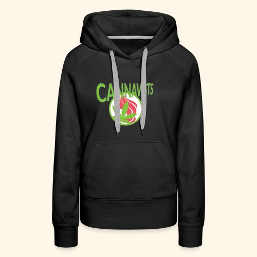 CANNAVIST logo - Women's Premium Hoodie