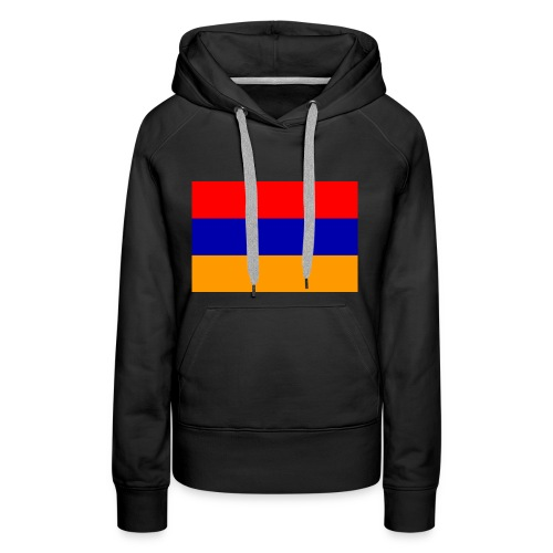 Armenian Flag - Republican of Armenia - Women's Premium Hoodie