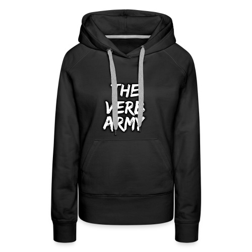 The Verb Army - Women's Premium Hoodie