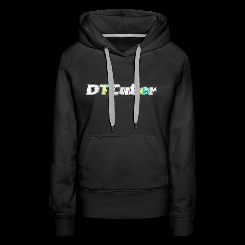 DTCuber Logo - Women's Premium Hoodie