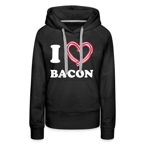 I L Bacon - Women's Premium Hoodie