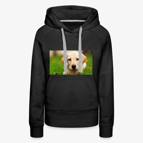 cute puppy - Women's Premium Hoodie