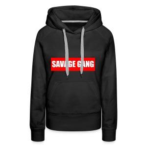 savage gang - Women's Premium Hoodie