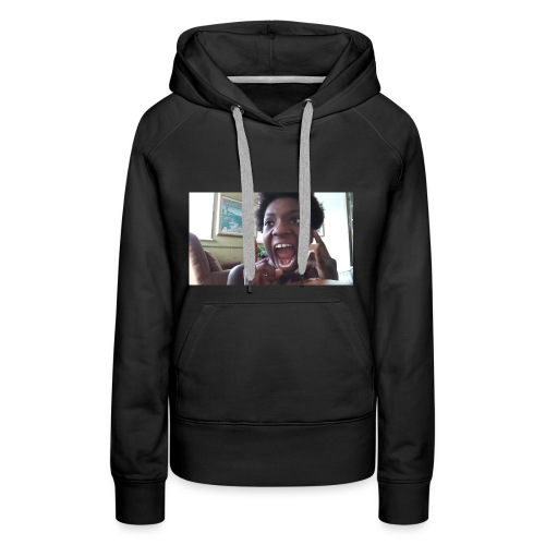 Screaming Face - Women's Premium Hoodie