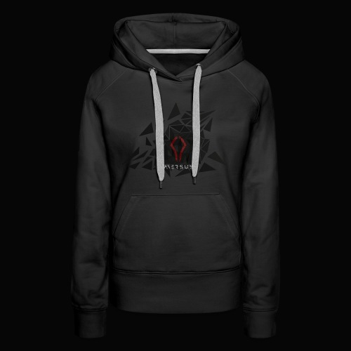 Aversus - Logo + Name - Women's Premium Hoodie