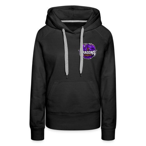 Clothing with the official logo of the DRG team - Women's Premium Hoodie
