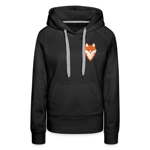 Abstract Fox - Women's Premium Hoodie